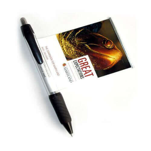 Personalised Pens Australia - The Wave Banner Pens - Promotional Pens